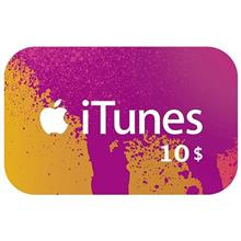 Apple iTunes 10 Dollars Gift Card